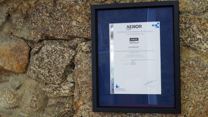 Certificación de AENOR