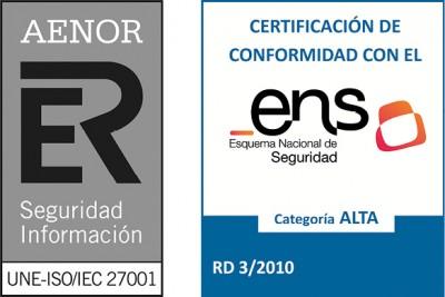 ISO/IEC 27001 y ENS, binomio perfecto para  la ciberseguridad